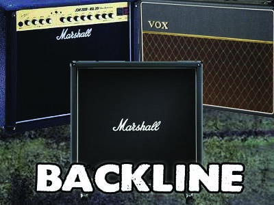 Backline Hire in Kent and London