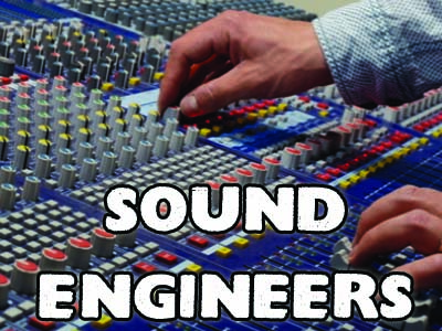 sound engineer hire, crew hire, lighting hire