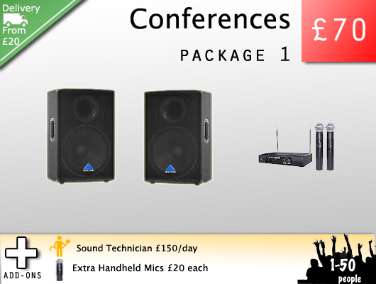 Hire speakers for speeches, conferences and other spoken word events