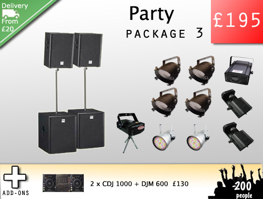 Party Hire Speakers Kent