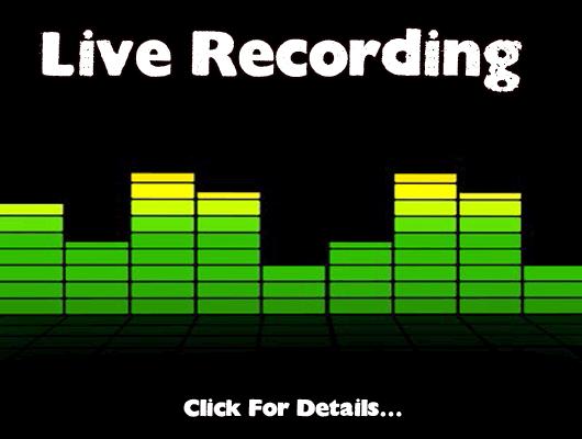 Live Recording rentals