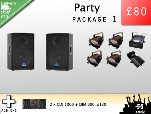 Party Sound Hire
