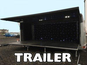 Hire a trailer stage for your event