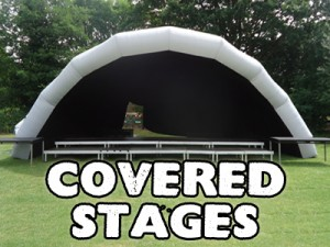 Covered Outdoor Stage Hire Kent
